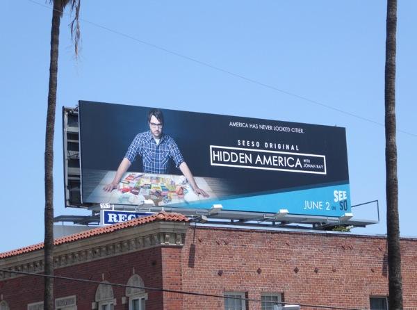 Hidden America series premiere billboard