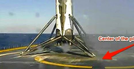 SpaceX presently Successfully-Landed Its Rocket On A Barge In The Ocean