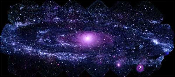 M31, interaksi dunia paralel