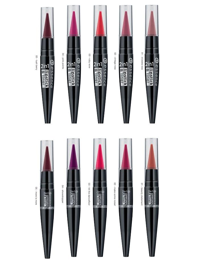 essence Auslistung 2017 lipstick liner