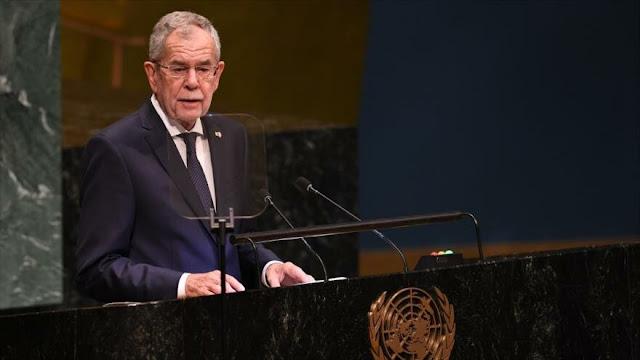 """Austria urge a Europa a dejar de """"bailar al son que le toca"""" EEUU"""