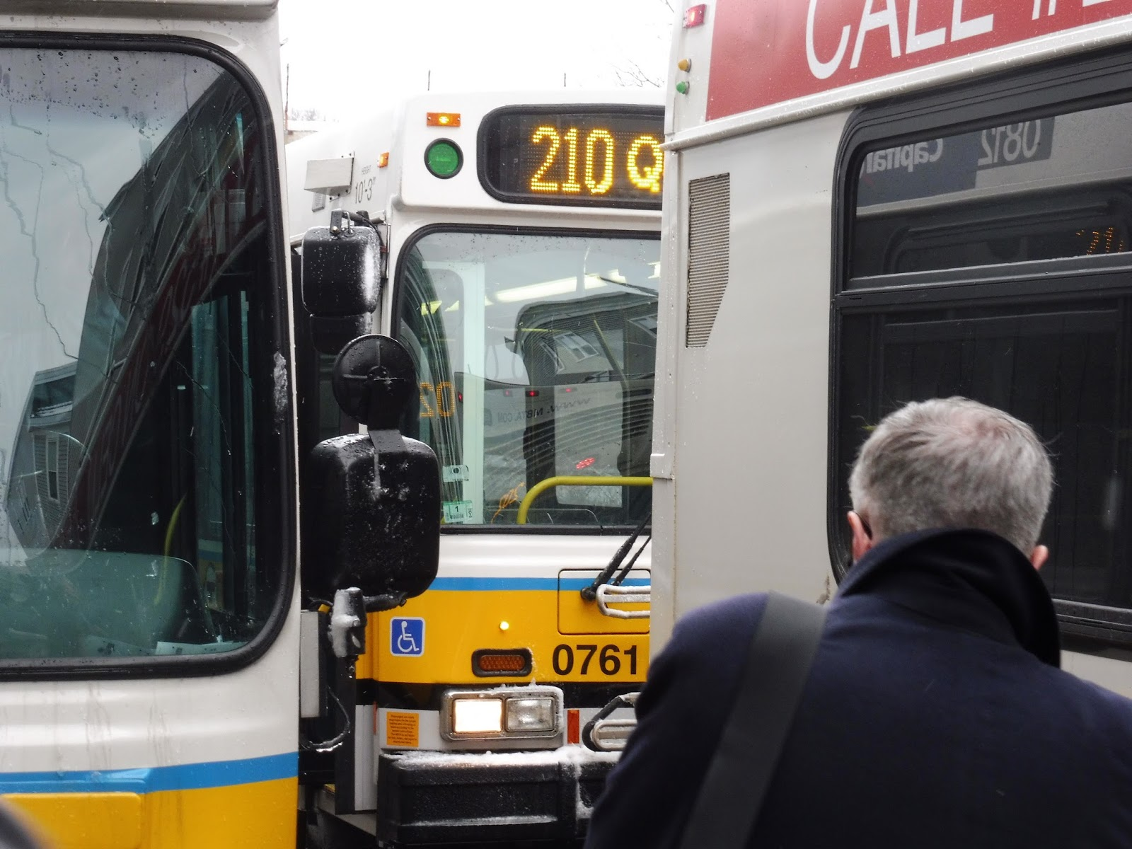 Miles on the MBTA: 210 (Quincy Center Station - North Quincy