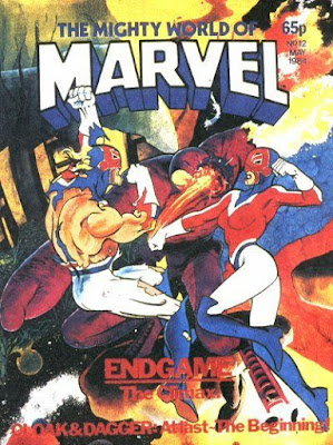Mighty World of Marvel #12, Captain Britain