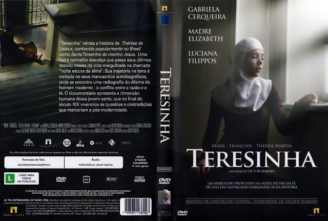 Capa DVD Teresinha (Oficial)