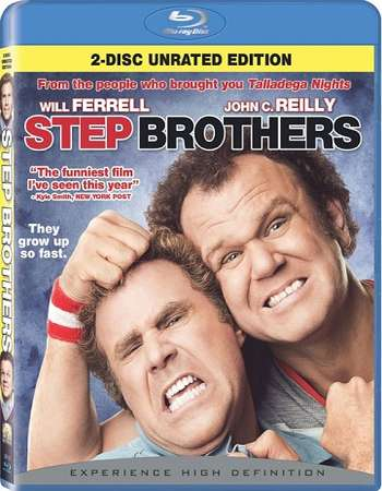 Poster Of Step Brothers 2008 English 300MB BRRip 480p Free Download Watch Online