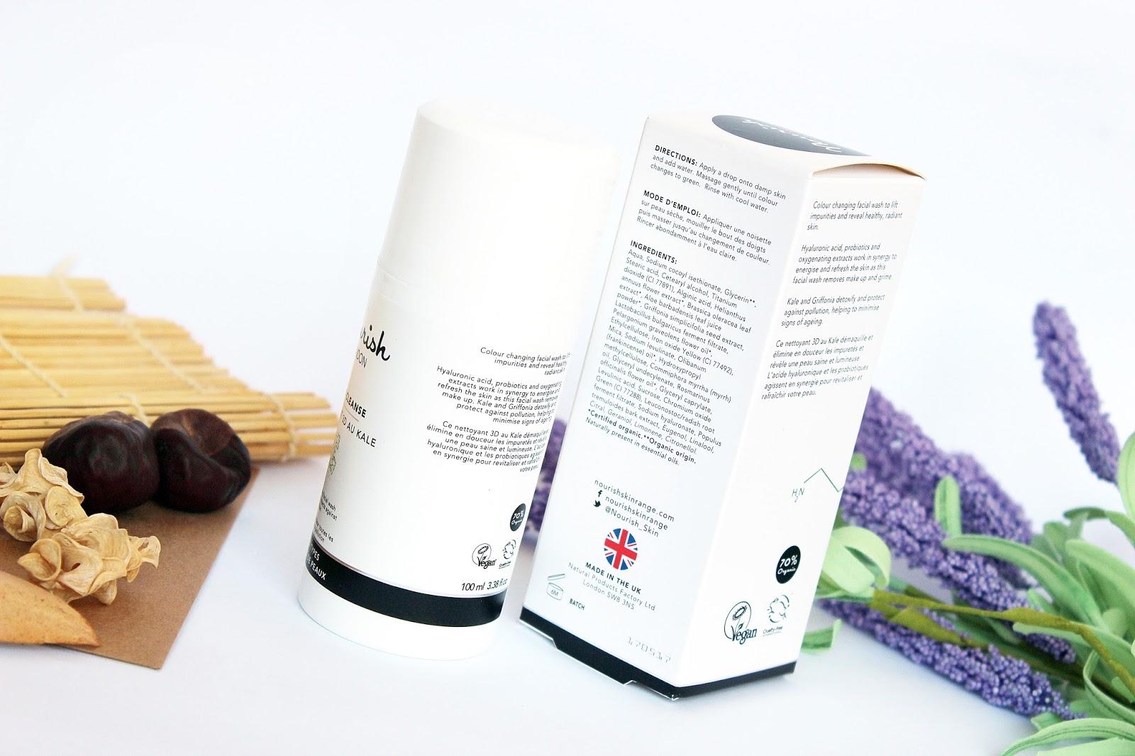 Nourish, Kale 3D Cleanse, czyli oczyszczająca emulsja z jarmużem