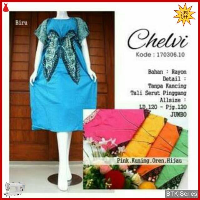 BTK025 Baju Daster Lowo Kupu Dress Piyama Murah BMGShop