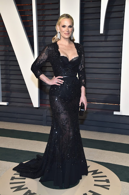 Molly Sims in Forevermark Diamodns at the 2017 Vanity Fair Oscars After Party
