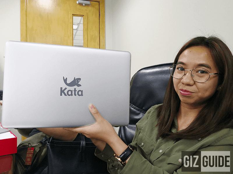 Kata logo in front