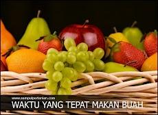Inilah waktu yang tepat untuk memakan Buah-buahan