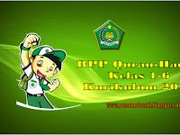 RPP Kurikulum 2013 Quran Hadits Kelas 1 sd 6 MI Semester 1 dan 2