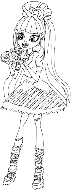 Free Printable Monster High Coloring Pages: January 2014