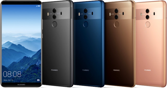 """The Mate 10 and Mate 10 Pro both have a slim 'bezel-less' screen display. The Mate 10 features a 5.9"""" 2560x1440 screen display with 16:9 aspect ratio, while the Mate 10 Pro has 6.0"""" 2160x1080 screen display with immersive 18:9 aspect ratio that is also found on Galaxy S8 and Note 8."""