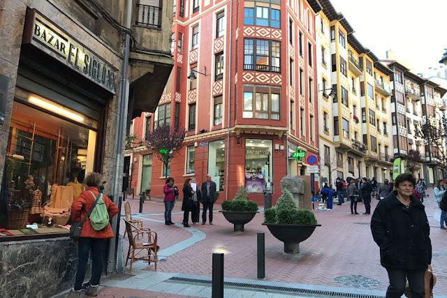 Actividades en la calle Portu