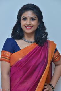 Supriya in Pink Saree Spicy Pics 019.JPG