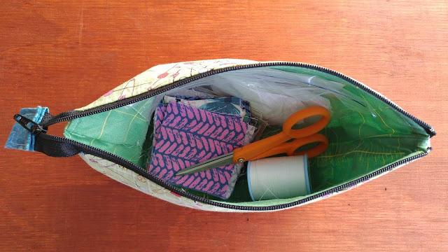 modern hexies quilt kit