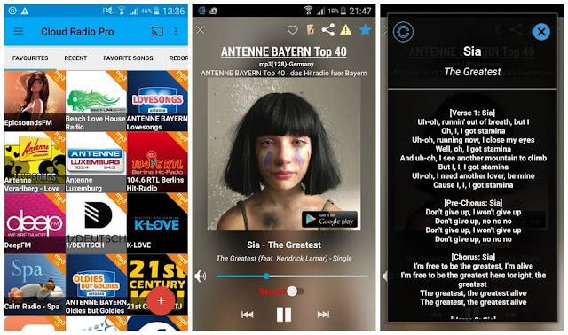 Cloud Radio Pro (Record&Lyrics) apk