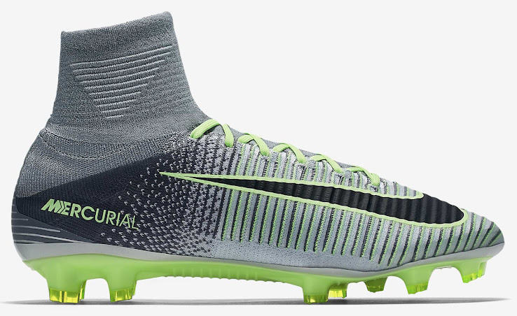 b5bf32b72 Pure Platinum Nike Mercurial Superfly V 2016-17 Elite Pack Boots ...