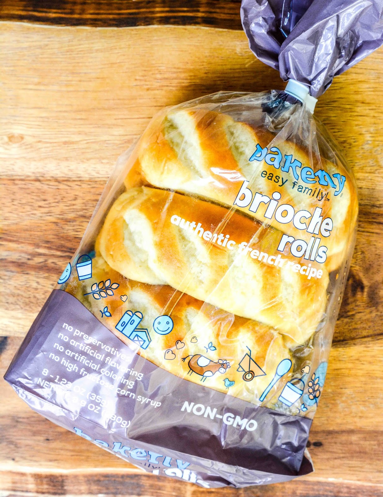 Bakerly Brioche Rolls