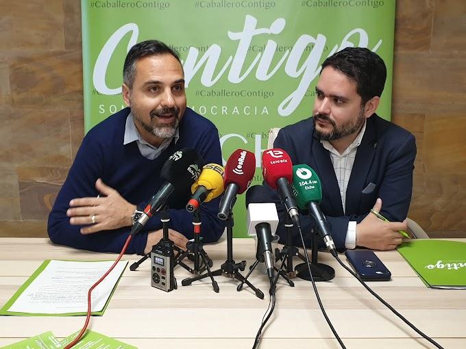 David Caballero presenta a Carlos San José como Coordinador de Campaña Electoral y Secretario de Contigo Elche