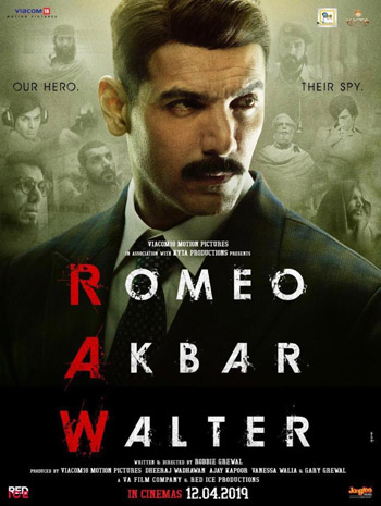 Romeo Akbar Walter 2019 ORG Hindi Movie HDRip 480p 400MB ESubs movie poster