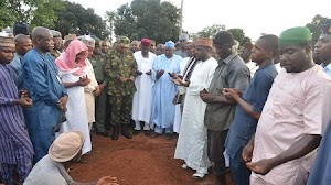 Nigeria Air Force Pilot Who Died Yesterday Already Laid To Rest.. See Burial Photos