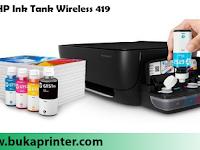 Review Spesifikasi dan Kelebihan HP Ink Tank Wireless 419 [Z6Z97A], Serta Harganya di Bulan Juli 2018