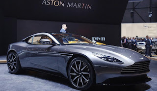 2016 Aston Martin DB11 at Genewa Motor Show