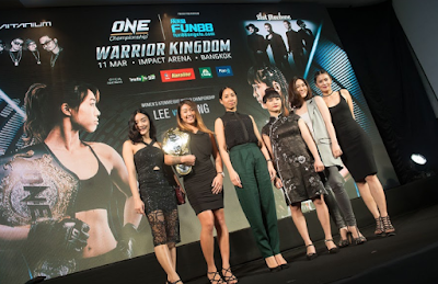 One: Angela Lee defending her title for the first time in Bangkok against Jenny Huang