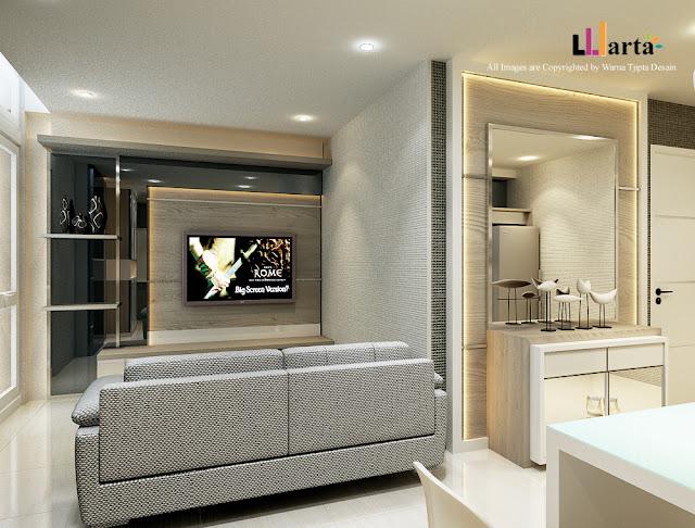 Desain Interior Apartemen di Pluit