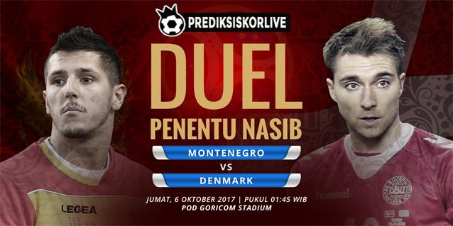 PREDIKSI BOLA: Montenegro vs Denmark