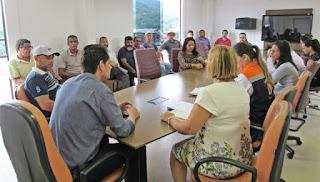 Prefeitura de Miracatu participa de reunião com Coordenadoria Regional da Defesa Civil do Vale do Ribeira