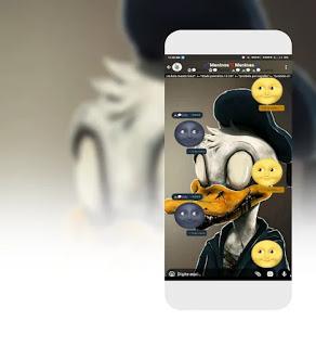 Donald Duck Theme For GBWhatsApp Create By PFM