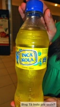 Refrigerecos que já experimentei pelo mundo - Inca Kola, Peru
