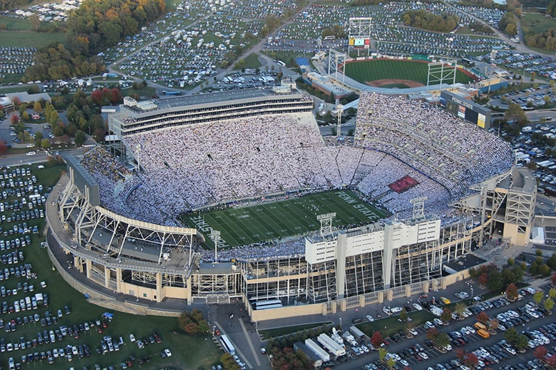 Крупнейший стадион в мире