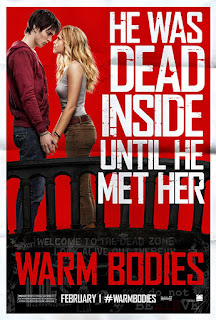 Warm Bodies 2013 Dual Audio Hindi BRRip 160Mb hevc
