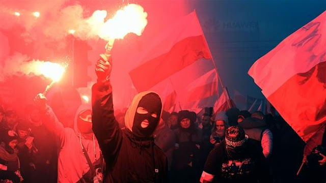 60,000 attend far-right march on Poland's Independence Day