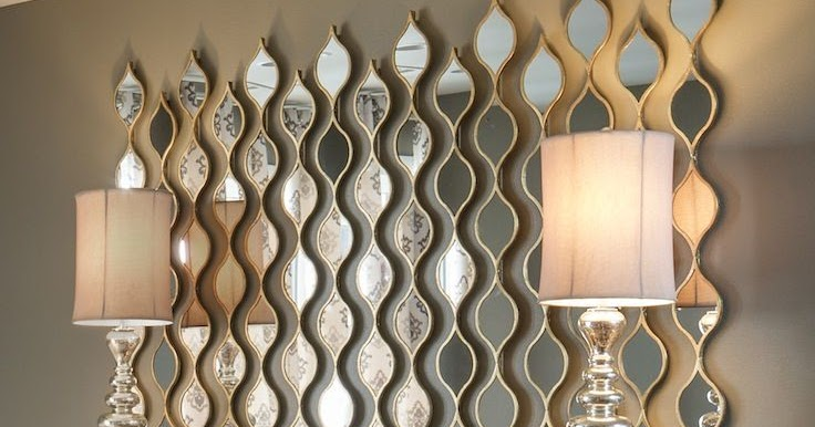 Decoraci n de salas con espejos decoraci n del hogar Decoracion de salas con espejos en la pared