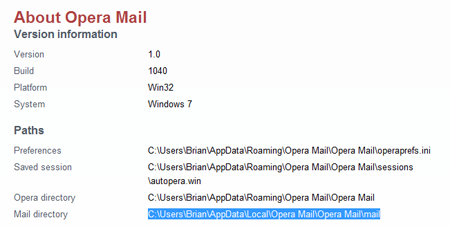 Back up your old Yahoo! Mail using Opera Mail
