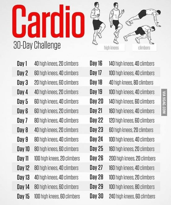 big lady no more 30 day cardio challenge