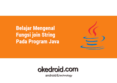 Contoh Program Method Fungsi join() dalam Program Java