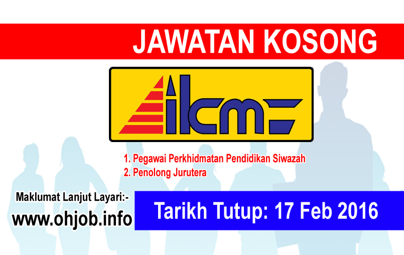 Jawatan Kerja Kosong Institut Kemahiran MARA (IKM) logo www.ohjob.info februari 2016