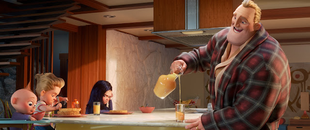 Incredibles 2 Mr. Incredible Making Breakfast