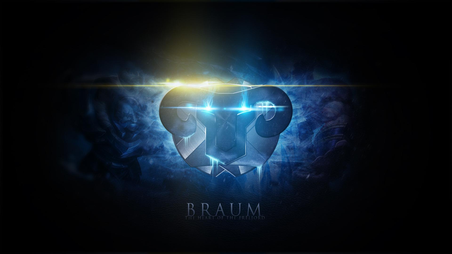 Braum LoL Icon Wallpaper HD