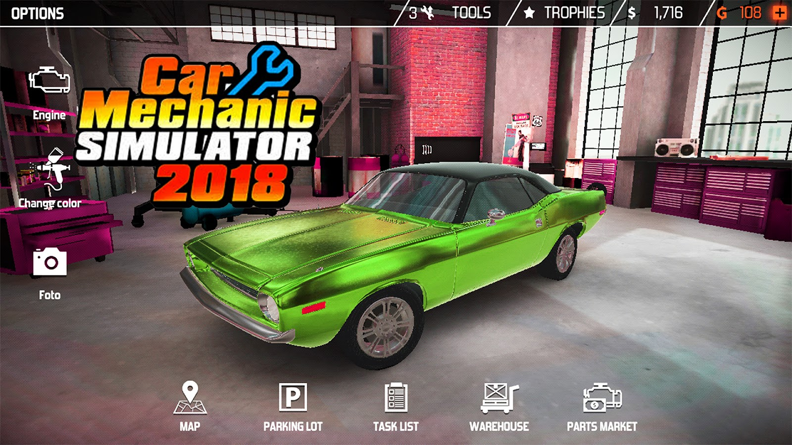 Car Mechanic Simulator 2018 Android Game Free Download