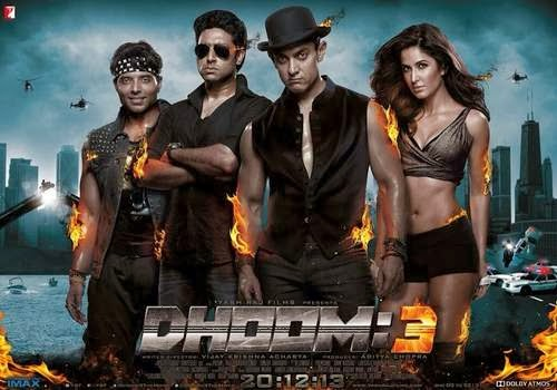 Hindi movie Dhoom 3 and its characters analysis