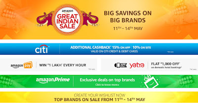 Amazon Great Indian Sale - May 2017