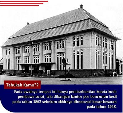 sejarah kantor pos bandung, kode pos bandung