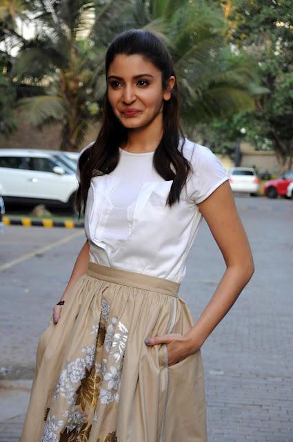 Anushka Sharma At Film Promotion At JW Marriott, Mumbai