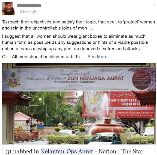 Wanita Berbaju Ketat Di Kelantan Didenda RM1,000